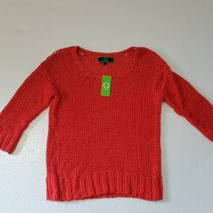 C.Wonder Saffron loose knit scoop sweater